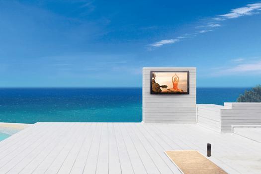 Seura Storm Ultra Bright 4K TV: Wetterfester 65-Zöller mit 4K