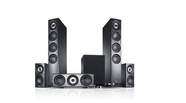 """Des Teufel(s) Soundsystem: Definion 3 Surround """"5.1-Set"""""""