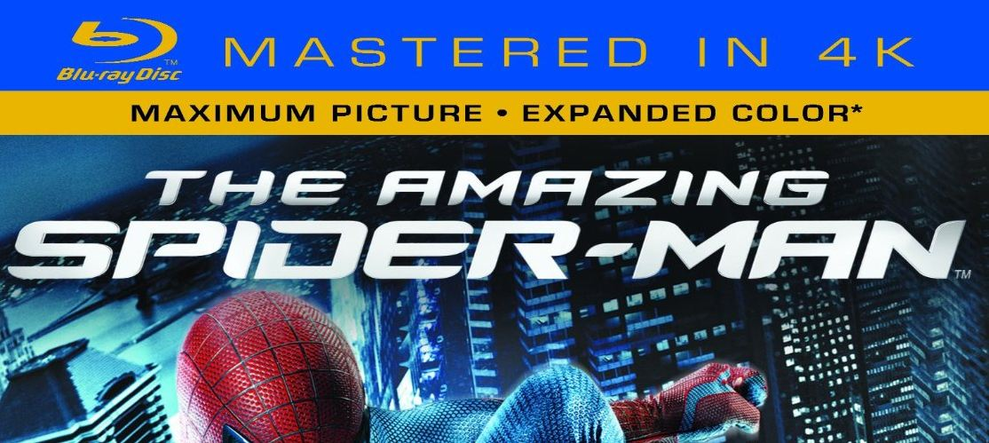 "The Amazing Spiderman – ""Mastered in 4K"" Blu-Ray"