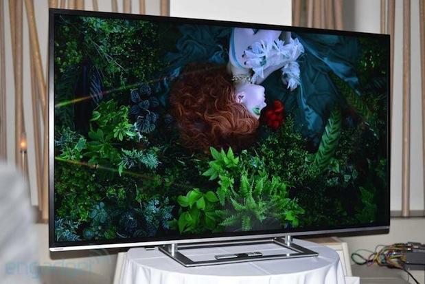 Toshiba's Ultra HD Fernseher für 80 Euro pro Zoll?