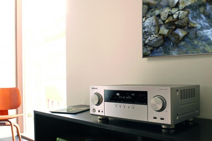 Pioneer VSX-924: Mehrkanal-Receiver mit UHD Unterstützung
