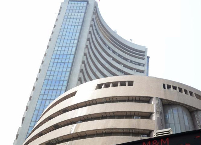 Sensex climbs as exit polls project BJP win in Gujarat