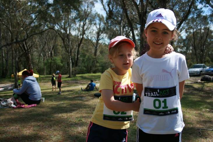 Bry's two lovely daughters taking part in the TrailACT events - which allows for a family day out on the trails. More and more event organisers are opening their eyes to these options.