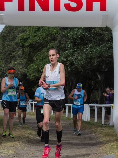Alex Matthews won the Centennial Park Ultra 50kms, which also billed as the Australian 50km National Championships... yet he didn't win the title of 'National 50km Champion'