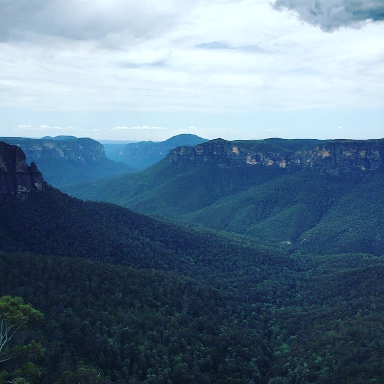 One for the Skyrunning Calendar, the Hounslow Classic in the Blue Mountains
