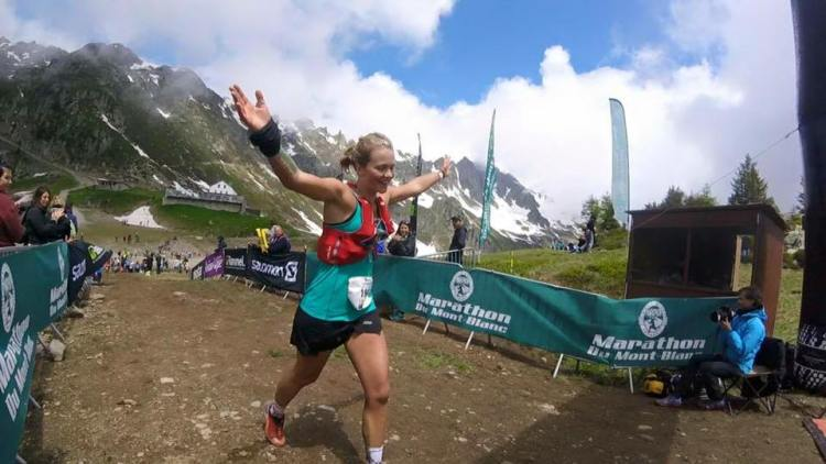 Lucy finished top 10 at the Mont Blanc Marathon in a stacked field of Europe's best ultra runners
