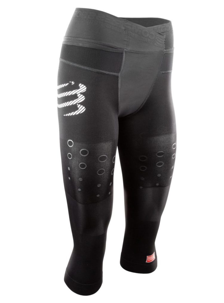 Compressport Pirate 3/4 ladies trail running tights