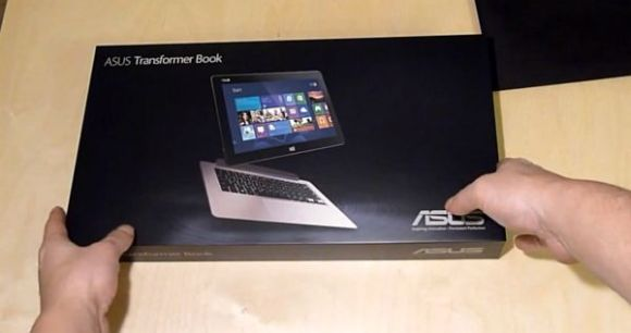 asus transformer book unboxing