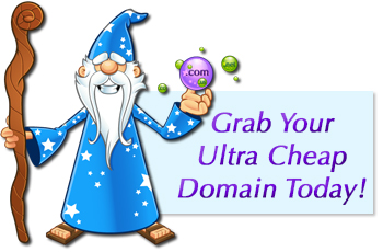 UltraCheapDomainShop.com | Super Cheap Domains! - Affordable Web Hosting, VPS, Dedicated Servers and Website Design Services