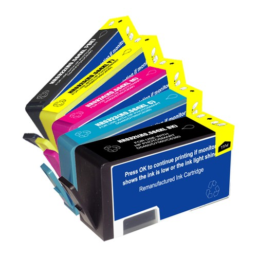 HP 564BK/Y/C/M XL New Compatible Inkjet Cartridge $9.99 Ea