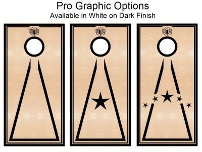 Ultra Cornhole Boards Pro Graphics