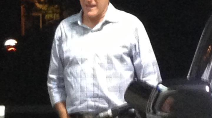 Mitt Romney Pumping Gas
