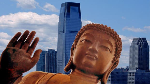 Buddha on Strike