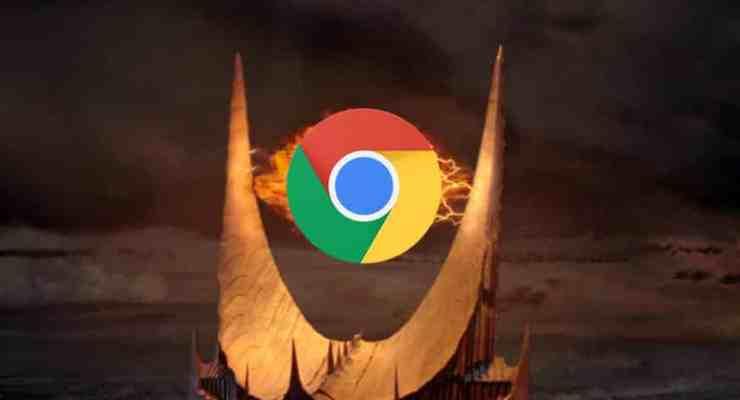 Google Eye of Sauron