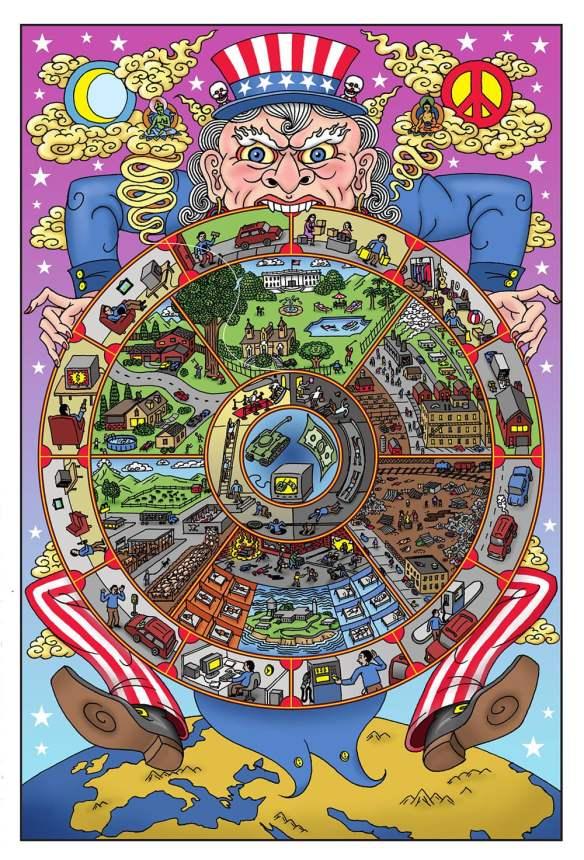 Buddhist Mandala Americosmos Darrin Drda