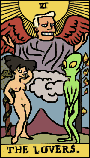 Futurama Tarot