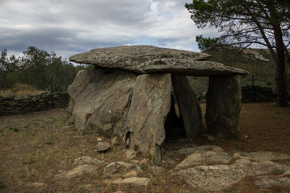 Megalith near Roses, Catalunya, Spain