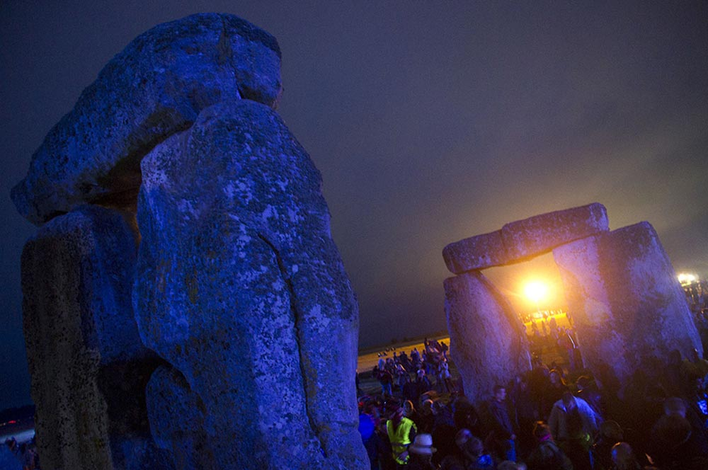 Megaliths Solstice Night, Stonehenge