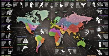 Here's an Astonishing Map of World Mythology
