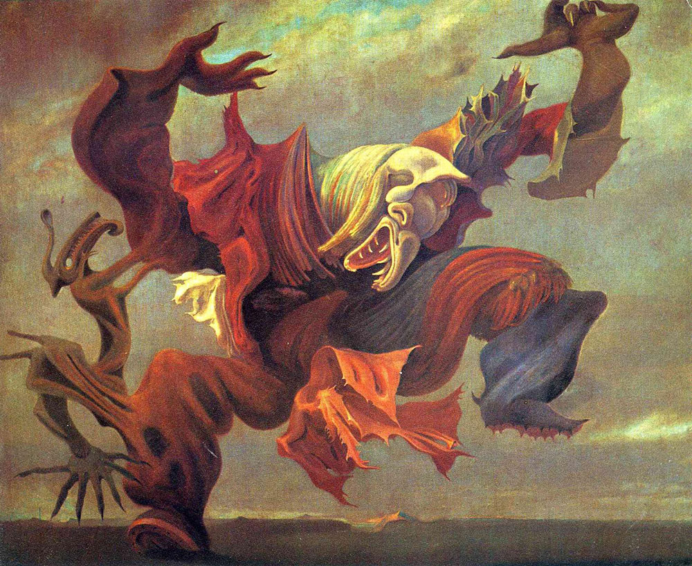 Max Ernst Angel of the Home or Triumph of Surrealism