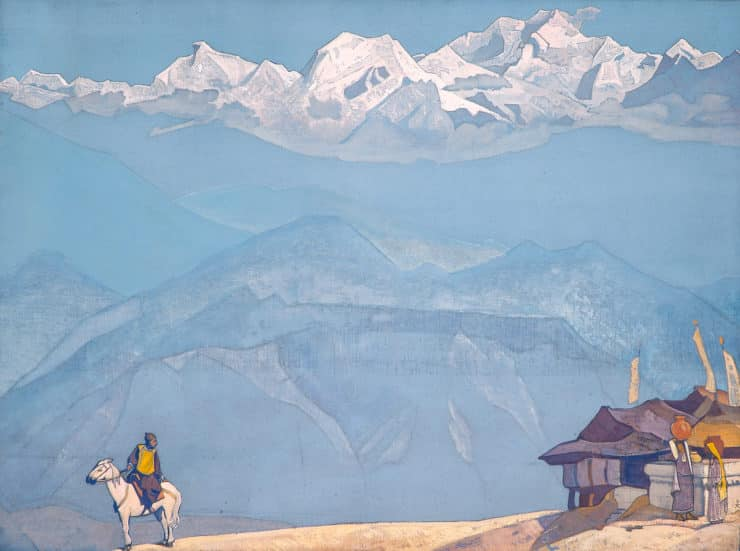 Remember by Nicholas Roerich. Image via Wikiart.org