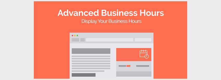 Advanced Business Hours - 47 Best WordPress Website Widgets to Make Your Website Feature-Rich - ULTRAdvice-min