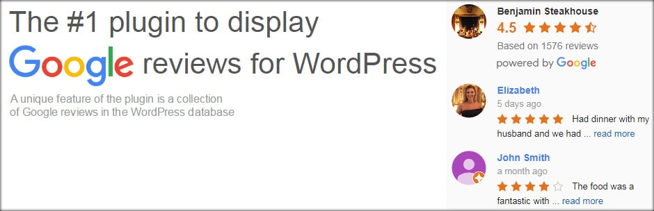 Google Reviews Widget - 47 Best WordPress Website Widgets to Make Your Website Feature-Rich - ULTRAdvice-min