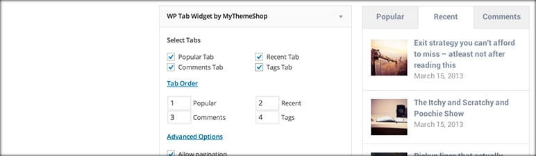 WP Tab Widget - 47 Best WordPress Website Widgets to Make Your Website Feature-Rich - ULTRAdvice-min