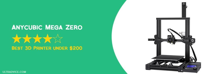 ANYCUBIC Mega Zero 3D Printer - Best 3D Printer under 200 - ULTRAdvice