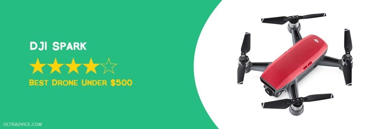 DJI Spark - Best Drones under 500 - ULTRAdvice.com