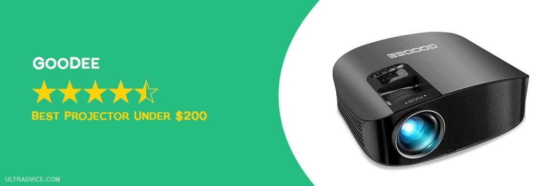 GooDee 2020 Upgrade HD Video Projector - Best Projector under $200 - ULTRAdvice.com