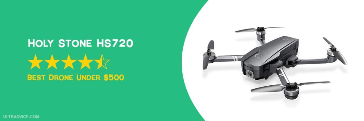 Holy Stone HS720 - Best Drones under 500 - ULTRAdvice.com
