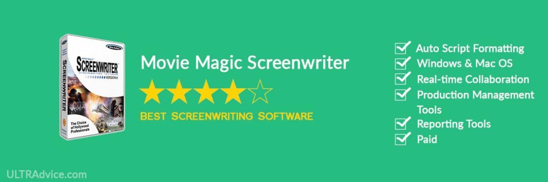 Movie Magic Screenwriter - Best Scriptwriting Software - ULTRAdvice.com