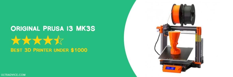Original Prusa i3 MK3S - Best 3D Printer under 1000 - ULTRAdvice.com