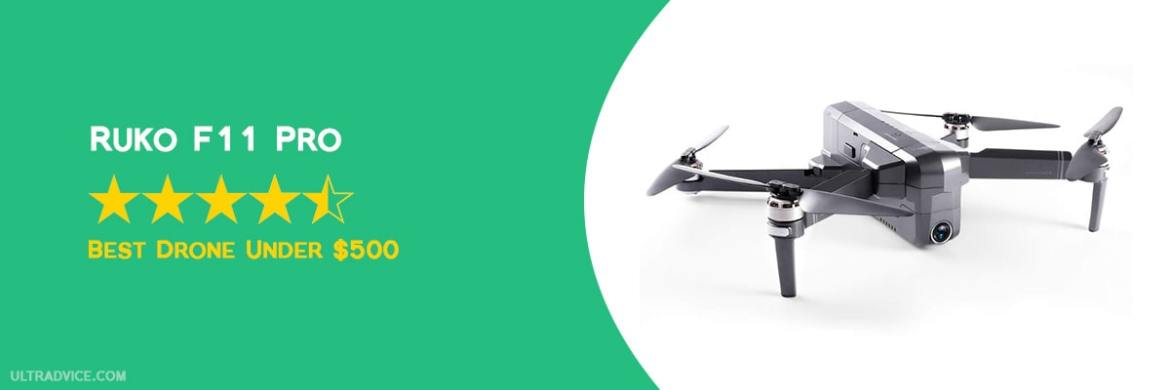 Ruko F11 Pro - Best Drones under 500 - ULTRAdvice.com