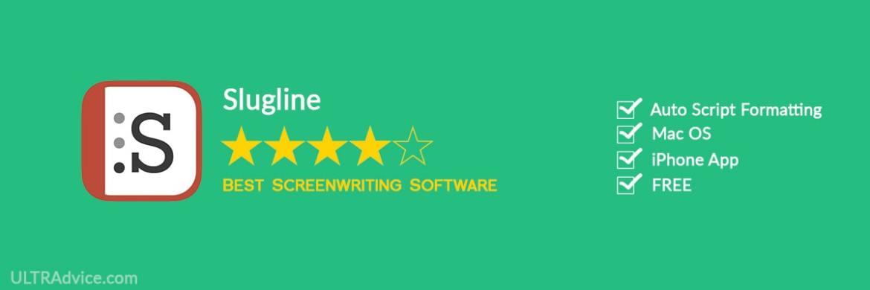 Slugline - Best Scriptwriting Software - ULTRAdvice.com