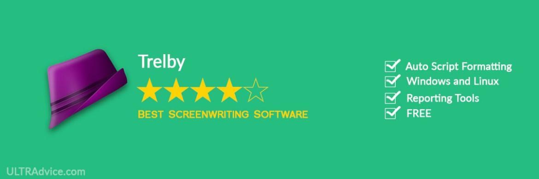 Trelby - Best Scriptwriting Software - ULTRAdvice.com