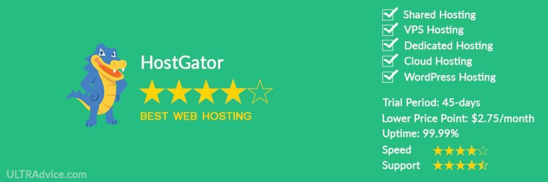 HostGator - Best Web Hosting for Small Business - ULTRAdvice.com
