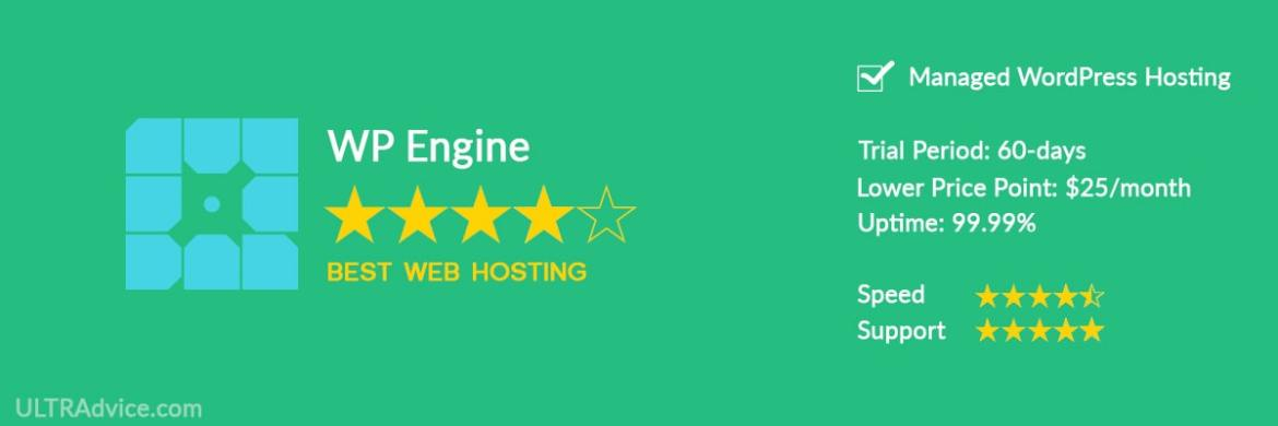 WP-Engine - Best Web Hosting for Small Business - ULTRAdvice.com