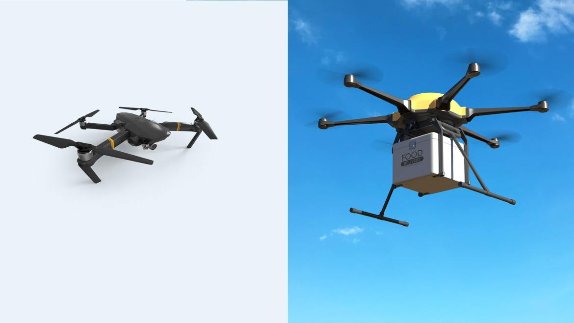 2 Types of Drone Depending on the Purpose - How Much Weight Can A Drone Lift - ULTRAdvice