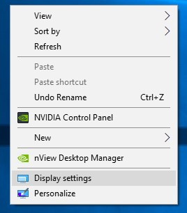 Windows 10 Display Preference Options - ULTRAdvice.com