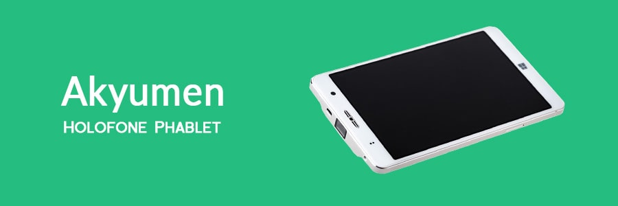 Akyumen Holofone - Best Tablet With Built-In Projector
