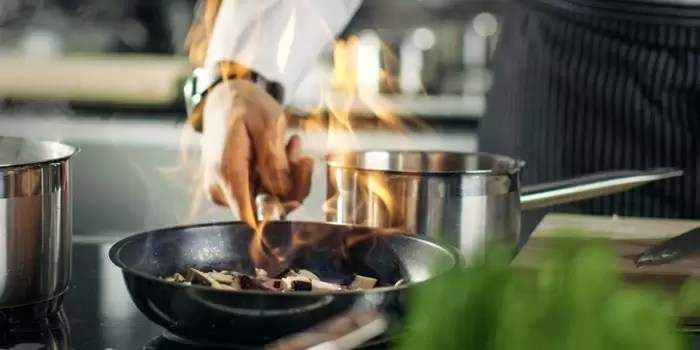 gás GLP em restaurantes e bares