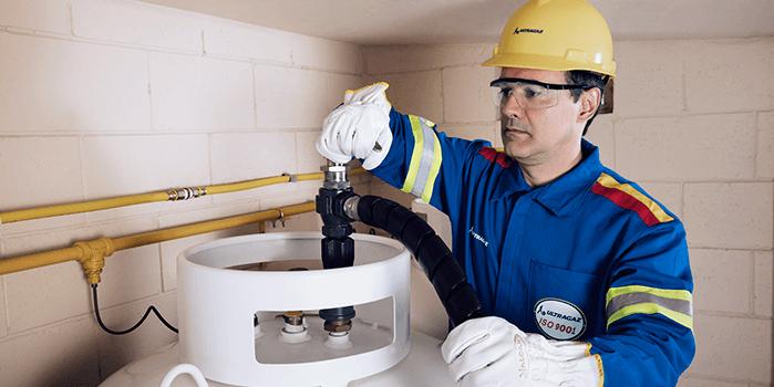 GLP industrial tem abastecimento programado e garantido