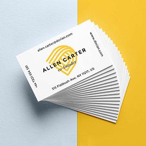 business card printing company