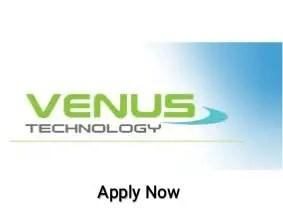 Venus Technology Hiring|Job Opening For BE/B.Tech/Diploma Fresher Mechanical/Civil /Automobile Engineer