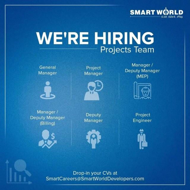 Smart World Developer Hiring  BE BTech Civil Engineers