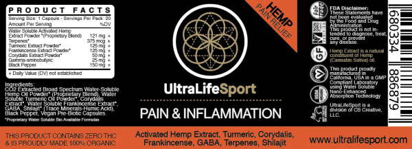 Pain & Inflammation Relief Capsules