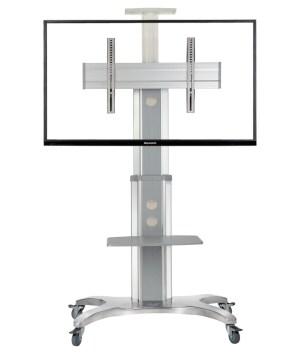 """TV / Bildschirm Rollständer mobiler Standfuß für 32""""–60"""" LCD/LED/Plasma, max. 45,5kg"""
