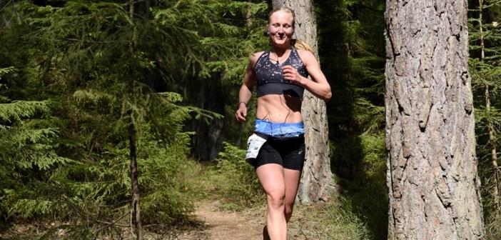 Segerintervju med Anna Carlsson, damsegrare i TEC 100 miles 2019